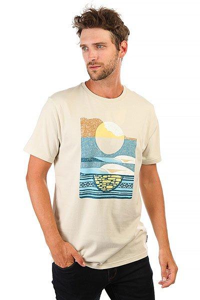 Футболка Billabong Moonrise-abel Rock<br><br>Цвет: бежевый<br>Тип: Футболка<br>Возраст: Взрослый<br>Пол: Мужской