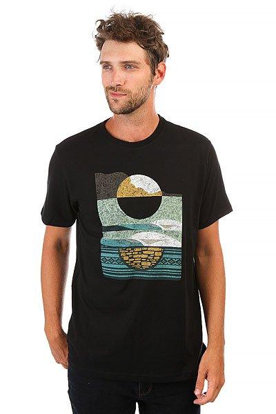 Футболка Billabong Moonrise-abel Black<br><br>Цвет: черный<br>Тип: Футболка<br>Возраст: Взрослый<br>Пол: Мужской