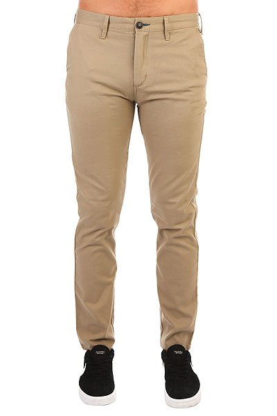 Штаны прямые Billabong New Order Chino Khaki billabong new order print 19 black