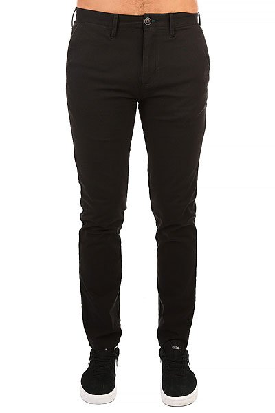 Штаны прямые Billabong New Order Chino Stealth billabong new order print 19 black