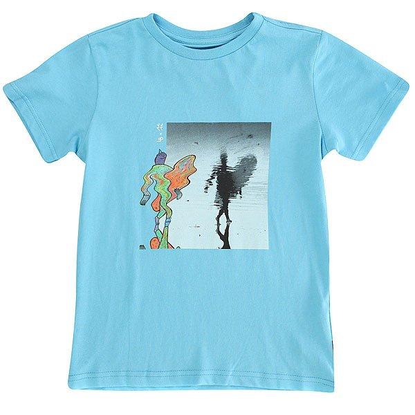 Футболка детская Billabong Reflexion-lb Light Blue<br><br>Цвет: голубой<br>Тип: Футболка<br>Возраст: Детский