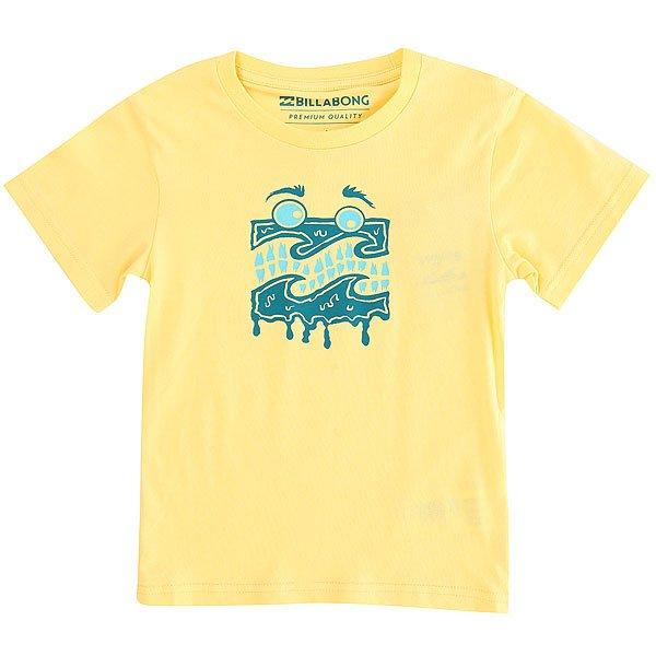 Футболка детская Billabong Wave Meltss Toddler Sun<br><br>Цвет: желтый<br>Тип: Футболка<br>Возраст: Детский