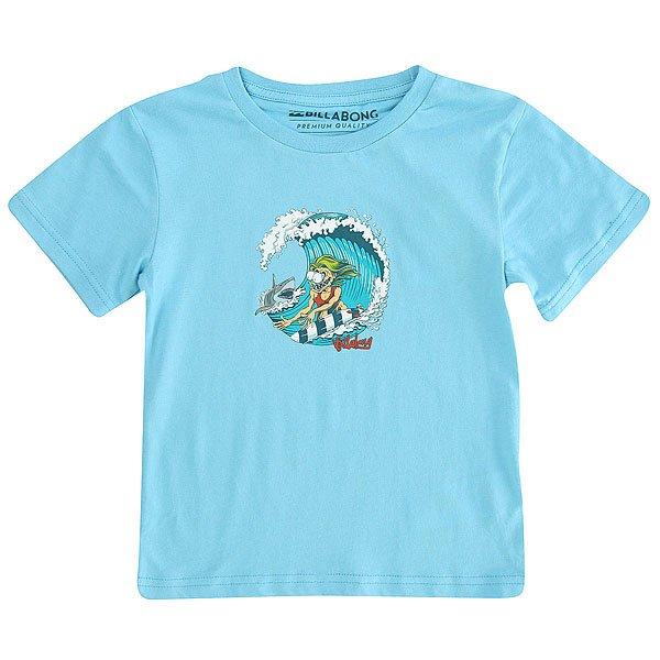 Футболка детская Billabong Shreddyss Toddler Light Blue<br><br>Цвет: голубой<br>Тип: Футболка<br>Возраст: Детский