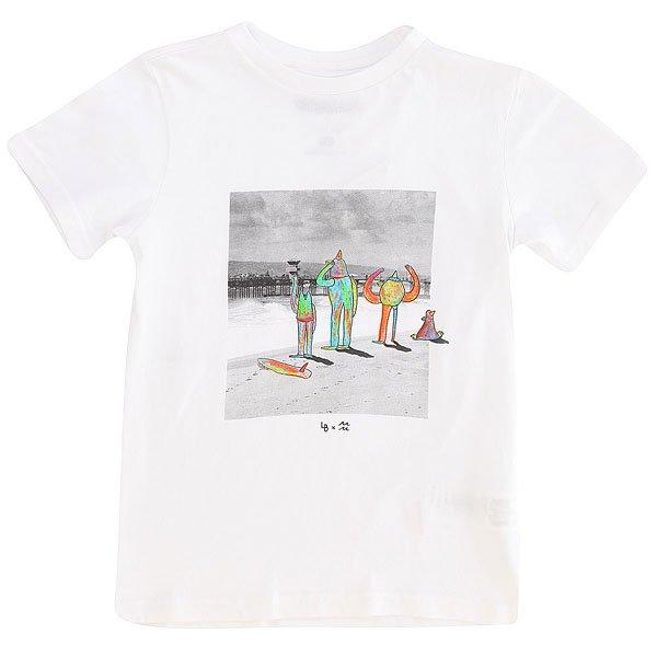 Футболка детская Billabong Surf Check-lb White<br><br>Цвет: белый<br>Тип: Футболка<br>Возраст: Детский