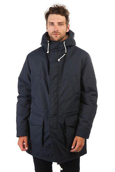 Куртка парка Devo Faro Dk.blue плед для пикника с непромокаемой подкладкой в спб