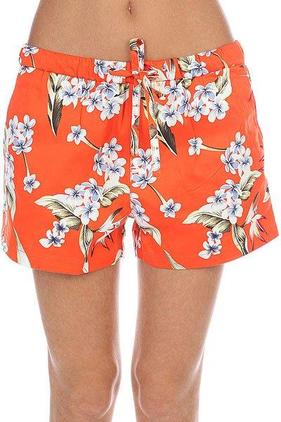 Шорты классические женские Flicka Count Saints Orange<br><br>Цвет: оранжевый<br>Тип: Шорты классические<br>Возраст: Взрослый<br>Пол: Женский