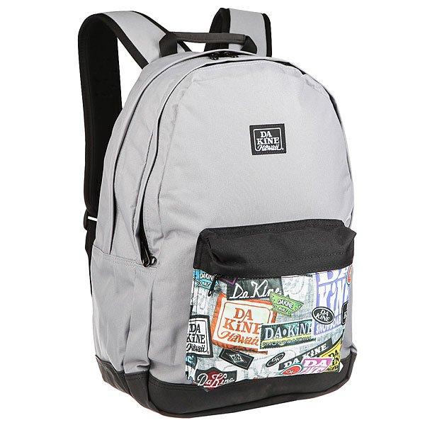 Рюкзак городской Dakine Detail 27 L Equip2rip<br><br>Цвет: серый,черный,мультиколор<br>Тип: Рюкзак городской<br>Возраст: Взрослый<br>Пол: Мужской