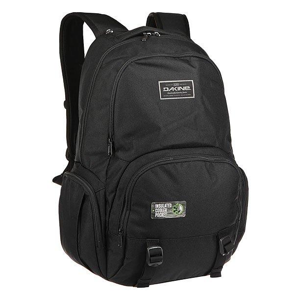 Рюкзак городской Dakine Pier Wet/Dry Black<br><br>Цвет: черный<br>Тип: Рюкзак городской<br>Возраст: Взрослый<br>Пол: Мужской