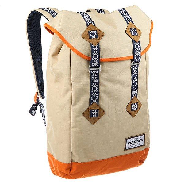 Рюкзак туристический Dakine Trek 26 L Dune<br><br>Цвет: бежевый<br>Тип: Рюкзак туристический<br>Возраст: Взрослый<br>Пол: Мужской