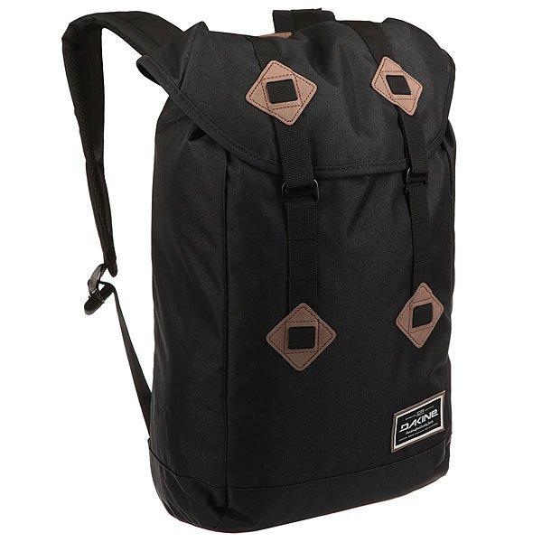 Рюкзак туристический Dakine Trek Black<br><br>Цвет: черный<br>Тип: Рюкзак туристический<br>Возраст: Взрослый