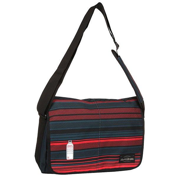 Сумка через плечо Dakine Mainline MantleНаплечная сумка на длинном ремне.Технические характеристики: Сумка изготовлена из переработанного материала.Основное отделение на молнии.Регулируемый плечевой ремень.<br><br>Цвет: черный,красный<br>Тип: Сумка через плечо<br>Возраст: Взрослый<br>Пол: Мужской