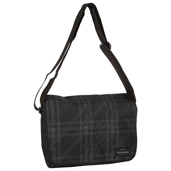 Сумка через плечо Dakine Mainline 20 L CascadiaНаплечная сумка на длинном ремне.Технические характеристики: Основное отделение на молнии.Плотный наплечный ремень регулируется по длине.<br><br>Цвет: черный,серый<br>Тип: Сумка через плечо<br>Возраст: Взрослый<br>Пол: Мужской