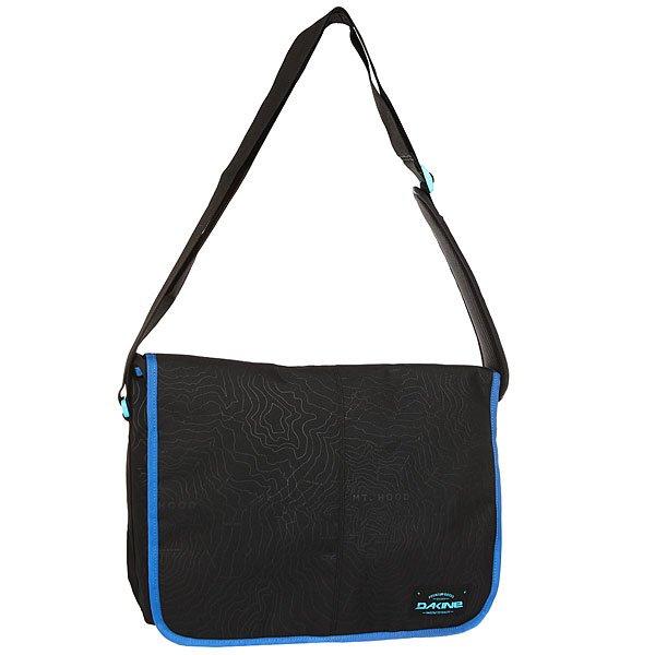 Сумка через плечо Dakine Mainline GlacierНаплечная сумка на длинном ремне.Технические характеристики: Основное отделение на молнии.Плотный наплечный ремень регулируется по длине.<br><br>Цвет: черный,синий<br>Тип: Сумка через плечо<br>Возраст: Взрослый<br>Пол: Мужской