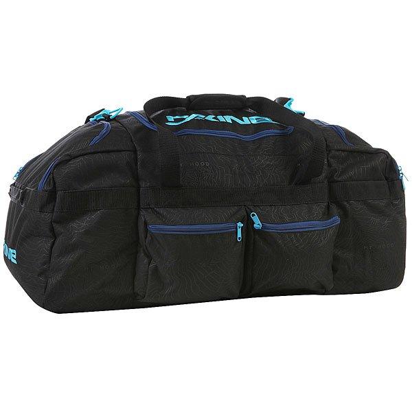 Сумка спортивная Dakine Utility Duffle 90 L Glacier сумка для аксессуаров dakine accessory цвет темно синий мультицвет 0 3 л