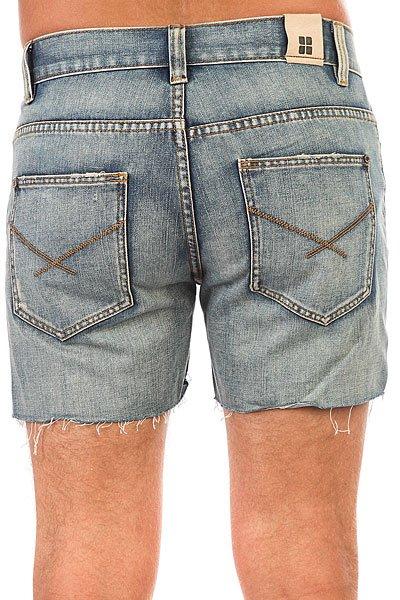 Шорты рваные джинсовые