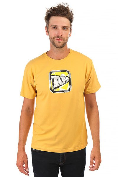 Футболка Apo Corpo Mustard<br><br>Цвет: желтый<br>Тип: Футболка<br>Возраст: Взрослый<br>Пол: Мужской
