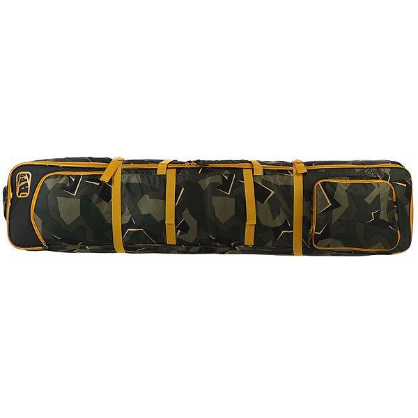 Чехол для лыж Apo Nomad Wheelie Boardbag Camo<br><br>Цвет: черный,зеленый<br>Тип: Чехол для лыж<br>Возраст: Взрослый<br>Пол: Мужской