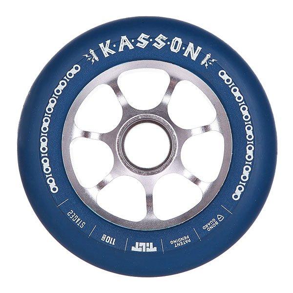 Колесо для самоката Tilt Dylan Kasson Signature WheelКолесо Tilt промодель Dylan Kasson диаметром 110 мм.Колеса протестированы лучшими мировыми райдерами. Характеристики:Размер: 110 мм. Ширина колеса: 24 мм. 7 облегчённых спиц.<br><br>Цвет: синий<br>Тип: Колесо для самоката<br>Возраст: Взрослый<br>Пол: Мужской
