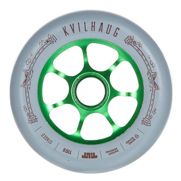 Колесо для самоката Tilt Tom Kvilhaug Signature WheelКолесо Tilt промодель Tom Kvilhaug диаметром 110 мм.Колеса протестированы лучшими мировыми райдерами. Характеристики:Размер: 110 мм. Ширина колеса: 24 мм. 7 облегчённых спиц.<br><br>Цвет: серый<br>Тип: Колесо для самоката<br>Возраст: Взрослый<br>Пол: Мужской