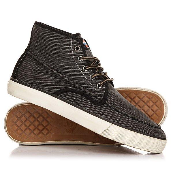 Кеды кроссовки высокие Dickies Workhorse Black<br><br>Цвет: серый,черный<br>Тип: Кеды высокие<br>Возраст: Взрослый<br>Пол: Мужской