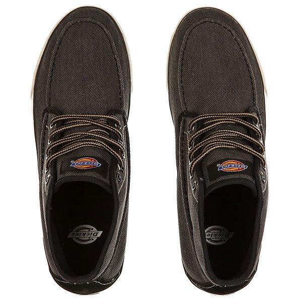 Кеды кроссовки высокие Dickies Workhorse Black