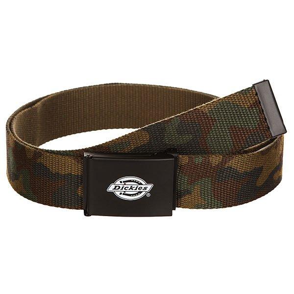 Ремень Dickies Orcutt Camouflage<br><br>Цвет: зеленый,коричневый,черный<br>Тип: Ремень<br>Возраст: Взрослый<br>Пол: Мужской