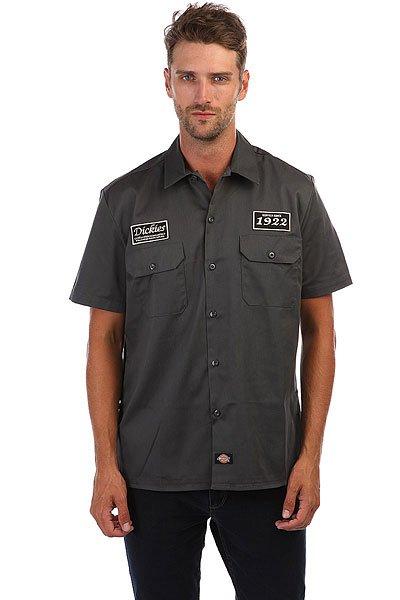 Рубашка Dickies North Irwin Charcoal Grey<br><br>Цвет: Темно-серый<br>Тип: Рубашка<br>Возраст: Взрослый<br>Пол: Мужской