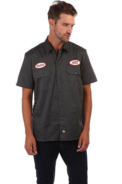 Рубашка Dickies Rotonda South Charcoal Grey<br><br>Тип: Рубашка<br>Возраст: Взрослый<br>Пол: Мужской