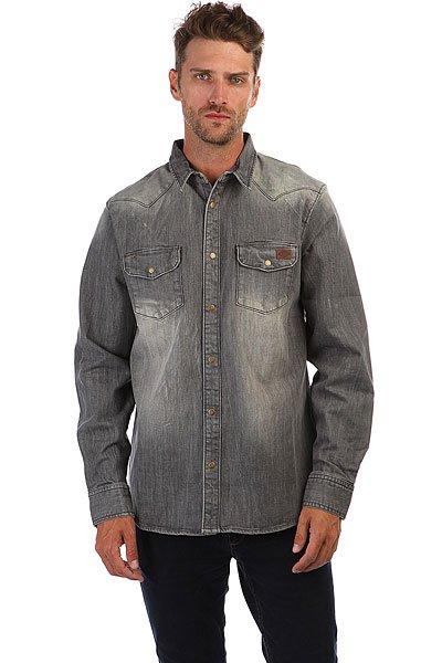 Рубашка Dickies Dallas Bleached Gry<br><br>Цвет: Темно-серый<br>Тип: Рубашка<br>Возраст: Взрослый<br>Пол: Мужской