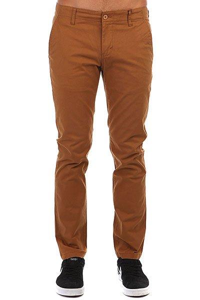 Штаны прямые Dickies Kerman Brown Duck<br><br>Цвет: коричневый<br>Тип: Штаны прямые<br>Возраст: Взрослый<br>Пол: Мужской