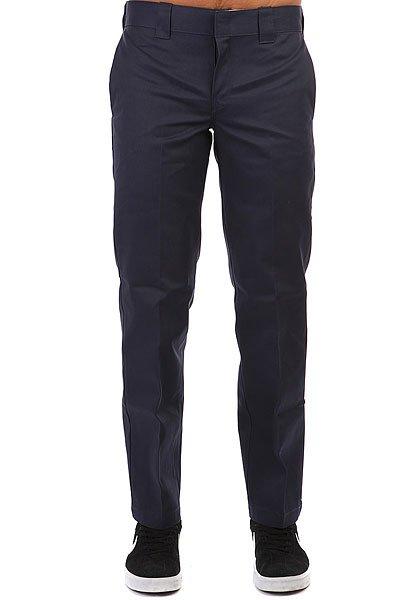 Штаны прямые Dickies Slim Straight Work Pant Navy Blue<br><br>Цвет: Темно-синий<br>Тип: Штаны прямые<br>Возраст: Взрослый<br>Пол: Мужской