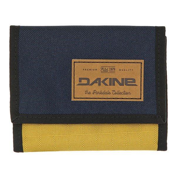 Кошелек Dakine Diplomat Wallet Darwin Dwn<br><br>Цвет: Темно-синий,Светло-коричневый<br>Тип: Кошелек<br>Возраст: Взрослый