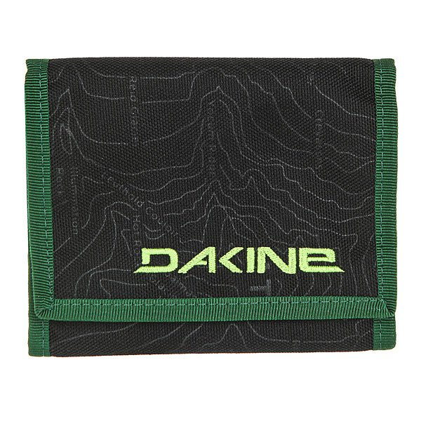 Кошелек Dakine Diplomat Wallet Hood<br><br>Цвет: черный,Светло-зеленый<br>Тип: Кошелек<br>Возраст: Взрослый