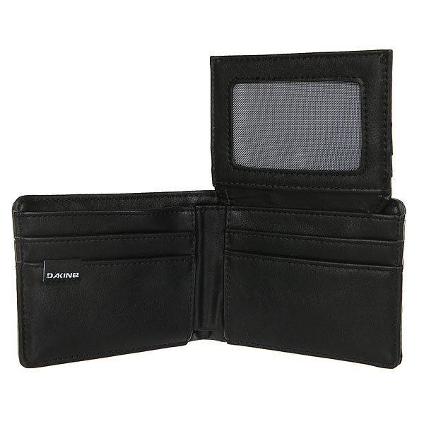 Кошелек Dakine Agent Leather Wallet True Black