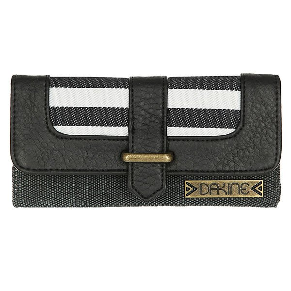 Кошелек женский Dakine Penelope Black Stripes