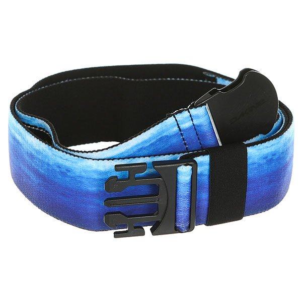 Ремень Dakine Reach Belt Blue Thrillium<br><br>Цвет: белый,синий<br>Тип: Ремень<br>Возраст: Взрослый<br>Пол: Мужской