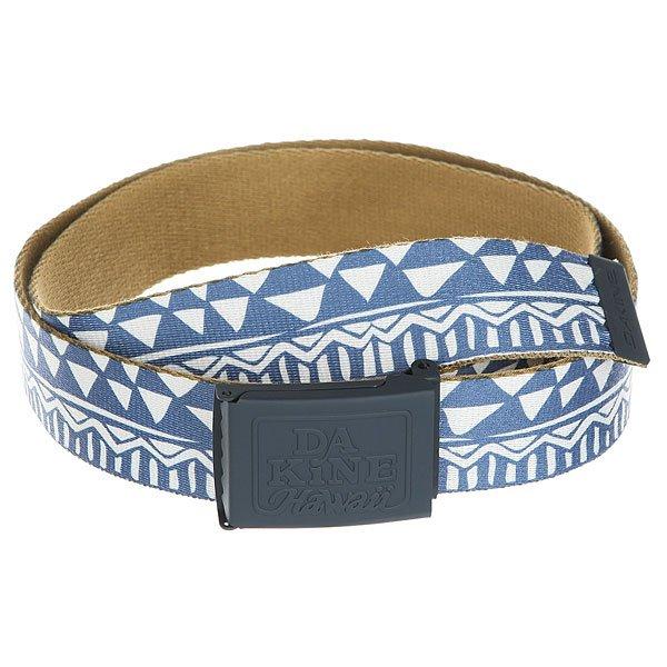 Ремень Dakine Hubbard Belt Mako<br><br>Цвет: Светло-синий,бежевый<br>Тип: Ремень<br>Возраст: Взрослый<br>Пол: Мужской