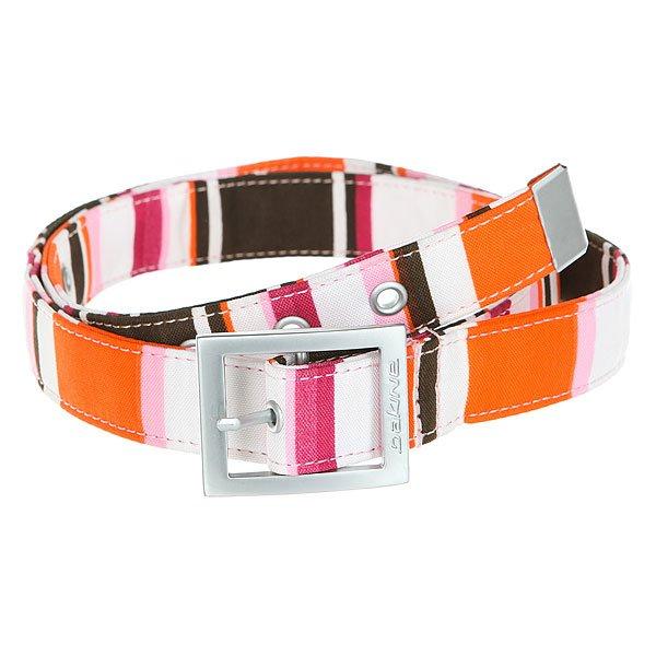 Ремень женский Dakine Girl Buckle Stripe<br><br>Цвет: Светло-розовый,белый,красный<br>Тип: Ремень<br>Возраст: Взрослый<br>Пол: Женский