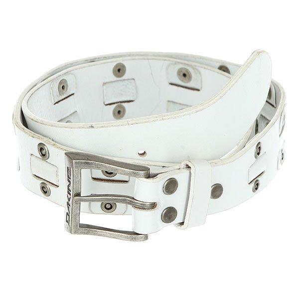 Ремень женский Dakine Overlap Belt White<br><br>Цвет: белый<br>Тип: Ремень<br>Возраст: Взрослый<br>Пол: Женский