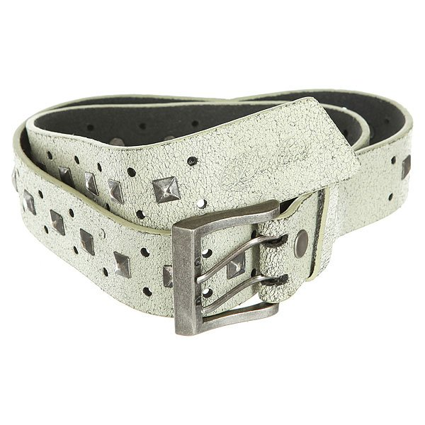 Ремень женский Dakine Star Studded Belt White
