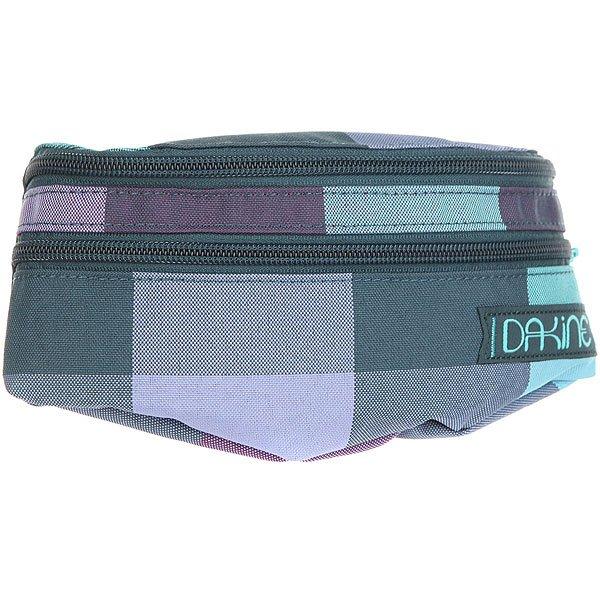 Сумка поясная женская Dakine Womens Classic Hip Ryk Ryker Purple/Blue/Green<br><br>Цвет: мультиколор<br>Тип: Сумка поясная<br>Возраст: Взрослый<br>Пол: Женский