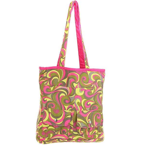 Сумка женская Dakine Kate Rose/Yellow сумка женская dakine trina fancy squares