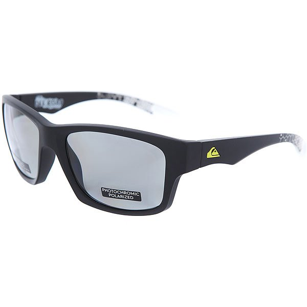 Очки Quiksilver Off Road Plz Pc Matte Black-Hexa Pr очки quiksilver hideout plz pc matte black yellow p