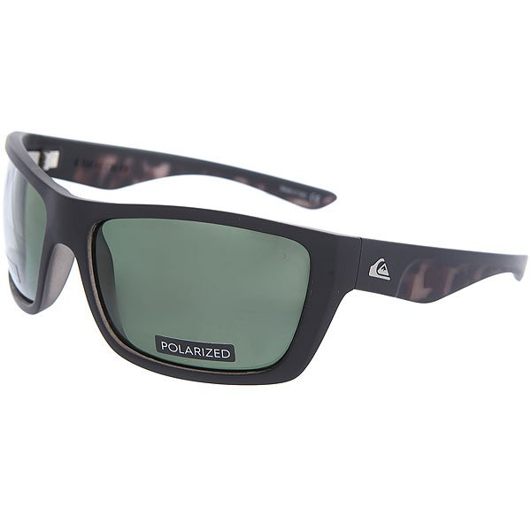 Очки Quiksilver Hideout Plz Tortoise Black/Plz очки quiksilver hideout plz pc matte black yellow p