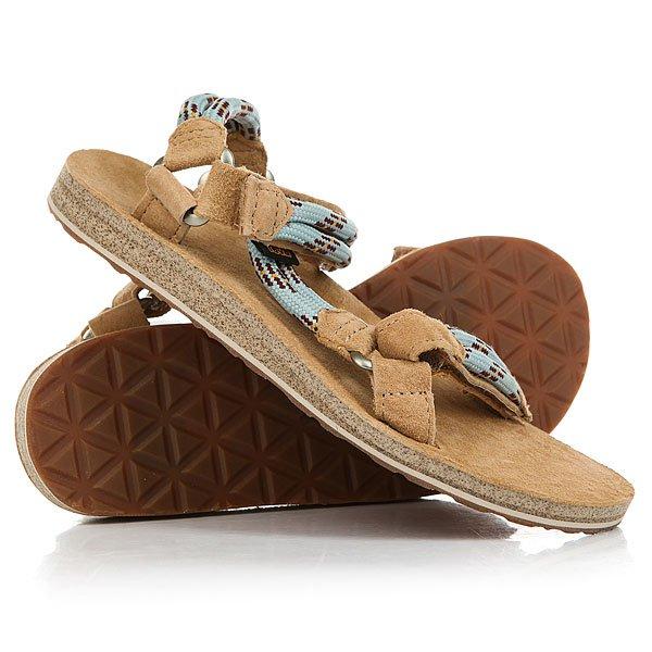 Сандалии женские Teva Original Universal Rope Canal Blue сандалии teva original universal marled real blue