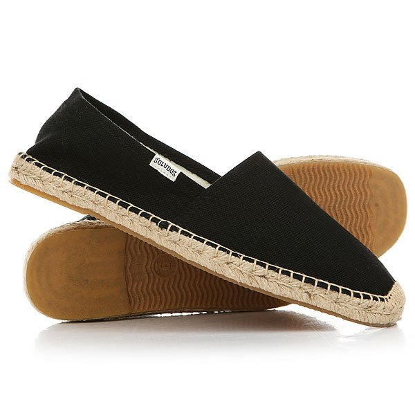 Эспадрильи Soludos Original Dali Real Black