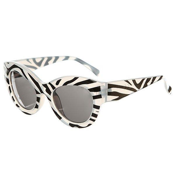 Очки женские Cheap Monday Vicious Zebra Black<br><br>Цвет: черный,белый<br>Тип: Очки<br>Возраст: Взрослый<br>Пол: Женский