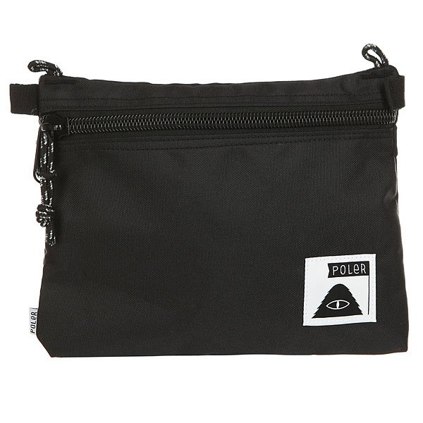 Пенал Poler Large Pouch Campdura Black<br><br>Цвет: черный<br>Тип: Пенал<br>Возраст: Взрослый<br>Пол: Мужской