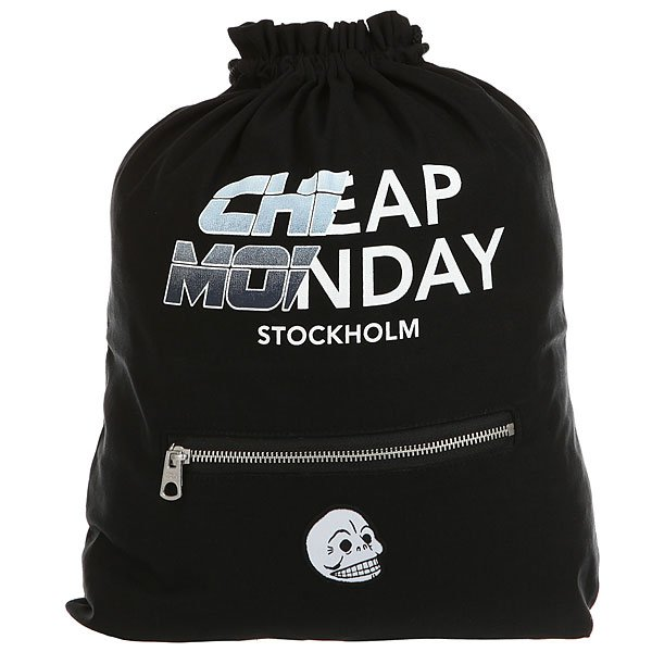 Мешок Cheap Monday Rapid Gym Bag Future Black<br><br>Цвет: черный,мультиколор<br>Тип: Мешок<br>Возраст: Взрослый<br>Пол: Мужской