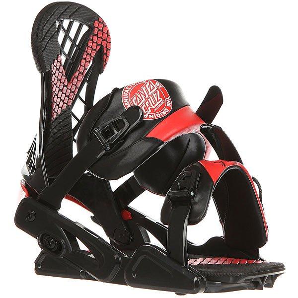 Крепления для сноуборда Santa Cruz Plasma/Emy Black/Red